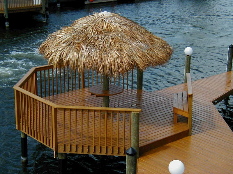 some boat dock designs